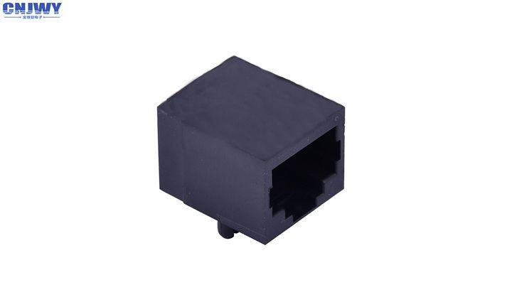 10P8C Rj45 Female Socket , Rj45 Connector Socket Rated Current 1.5A