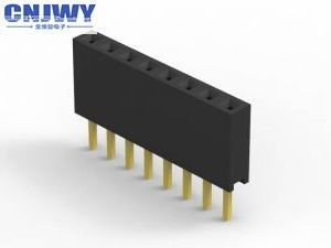 Durable 2 Mm Pitch Female Connector  , Single Row Male And Female Headers