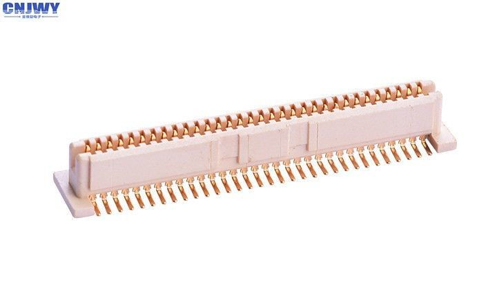 Surface Mount Board To Board Connector  , 64 PIN 1mm Pitch Header 0.5A Rated Current