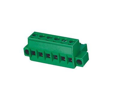1*15P Screw Terminal Block Connector Pluggable Type 30-12AWG H18.2mm R/A With Screw